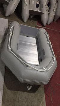 Tender Ocean 249 Piano Alluminio e Chiglia