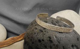 Modell S1000 Sonderanfertigung einer Fair Trade Silber (925) Herren Armspange mit galvanischer Rotgoldauflage gemäß Ihren Vorgaben