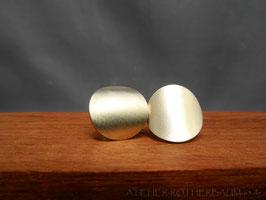 Ohrstecker K104 Fair Trade Silber aus Bolivien satiniert
