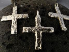 """Kreuz """"Rustico"""" K115 Recycling Silber aus eigener Werkstatt"""
