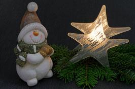 Doppelkarte A5 naturweiss  - Weihnachten   -   MSW0646