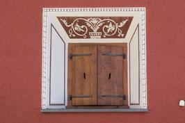 Doppelkarte A5 / naturweiss - Fenster - P5277882