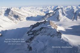 Doppelkarte A5 hochweiss /  Alpen 2 / P3124642-STF