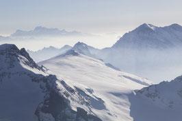 Doppelkarte A5 / blütenweiss  - Alpen 4 - P3124655
