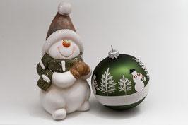 Doppelkarte A5 / braun  - Weihnachten   -   MSW0385
