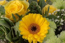 Doppelkarte A5 naturweiss - Blumenstrauss - P2190463