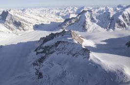 Doppelkarte A5 / hochweiss  - Alpen 3 - P3124642