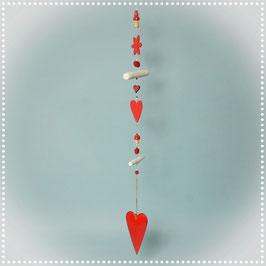 Dekohänger Herz rot