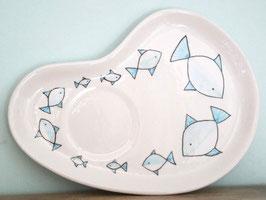 Altaarbord/onderbord met Vissen