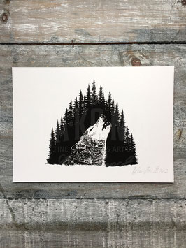 LONE WOLF | Signed Art Print #44