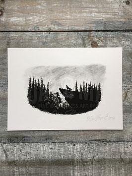 WOLF HILL | Signed Art Print #3