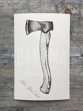 AXE | Signed Art Print #22