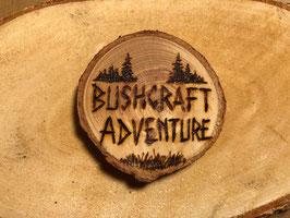 """Kühlschrank-Magnet """"Bushcraft Adventure"""""""