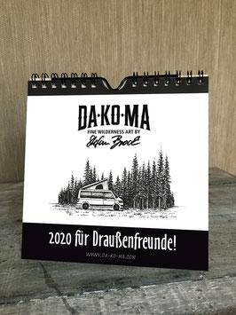DA-KO-MA Kalender 2020 // Calendar 2020