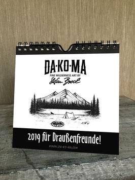 DA-KO-MA Kalender 2019 // Calendar 2019