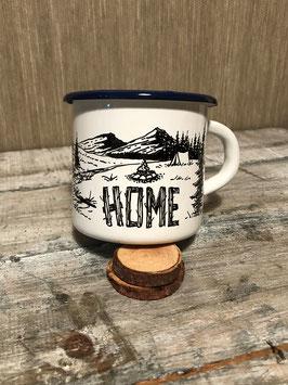HOME | HANDMADE ENAMEL MUG #25