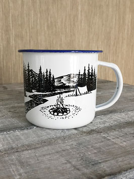 CAMP AT HOME | HANDMADE ENAMEL MUG #7