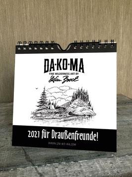 DA-KO-MA Kalender 2021 // Calendar 2021