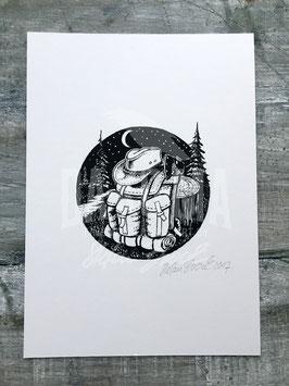 BC RUCKSACK | Signed Art Print #21
