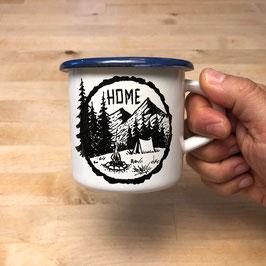 HOME | HANDMADE ENAMEL MUG #13