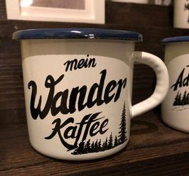 MEIN WANDER KAFFEE | HANDMADE ENAMEL MUG #14