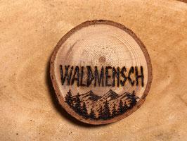 """Kühlschrank-Magnet """"Waldmensch"""""""
