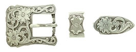 "S5401 LASRP 3/4"" 19MM Western Belt Buckle Set"