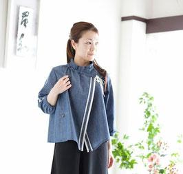 オリジナル作務衣_ライトデニム