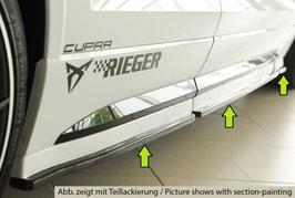 Rieger Seitenschwelleransatz (3-tlg.) (Türansatz), nur CUPRA