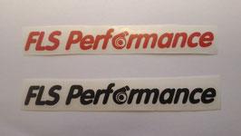 FLS Performance - Aufkleber (klein)