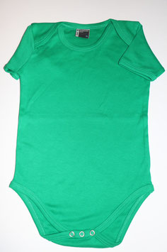 Babystrampler grün