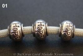 Perlen aus Tibetsilber