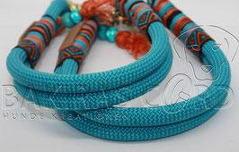 Kletterseil Halsband 2-reihig