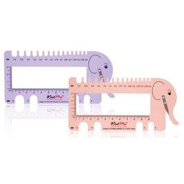 Knit Pro линейка для спиц и крючков