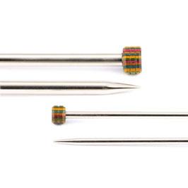 Knit Pro Nova Metal Singlepointed 25 cm - Металлические прямые спицы 25 см
