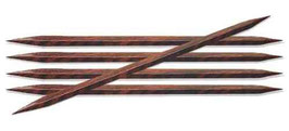 Knit Pro Cubics Socks needles 15 cm - Набор деревянных квадратных чулочных спиц 15 см