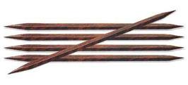 Knit Pro Cubics Socks needles 20 cm - Набор деревянных квадратных чулочных спиц 20 см