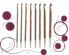 Knit Pro Symfonie Tunesian Hook Set- Набор тунисских деревянных крючков