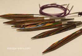 Knit Pro Symfonie Chunky - Набор разъемных деревянных спиц больших размеров