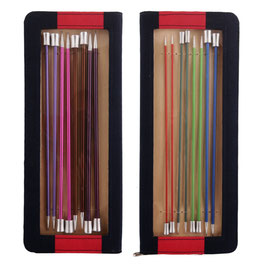 Knit Pro Zing 25 cm Набор прямых спиц