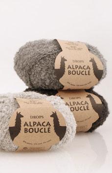 Alpaca bouclé