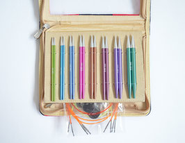 Knit Pro Zing Deluxe Набор разъемных спиц