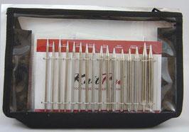 Knit Pro Nova Metal Deluxe - Набор разъемных металлически спиц, полный.