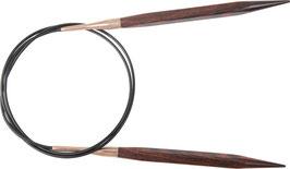 Knit Pro Cubics 40 cm - Деревянные укороченные квадратные спицы на леске 40 см