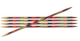 Knit Pro Symfonie 15 cm - Деревянные чулочные спицы 15 см