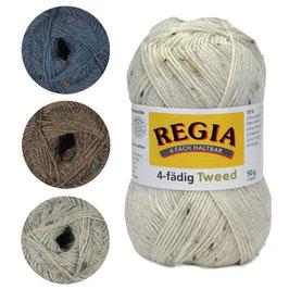 Regia 4-fach Tweed