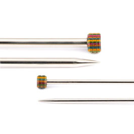 Knit Pro Nova Metal Singlepointed 30 cm - Металлические прямые спицы 30 см