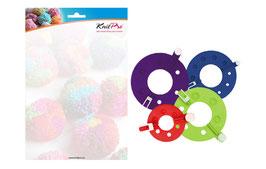 Knit Pro Pompom Maker 35 + 55 + 70 + 90