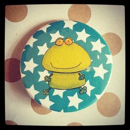 Petit badge grenouille