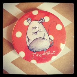 Petit badge Jt'adore